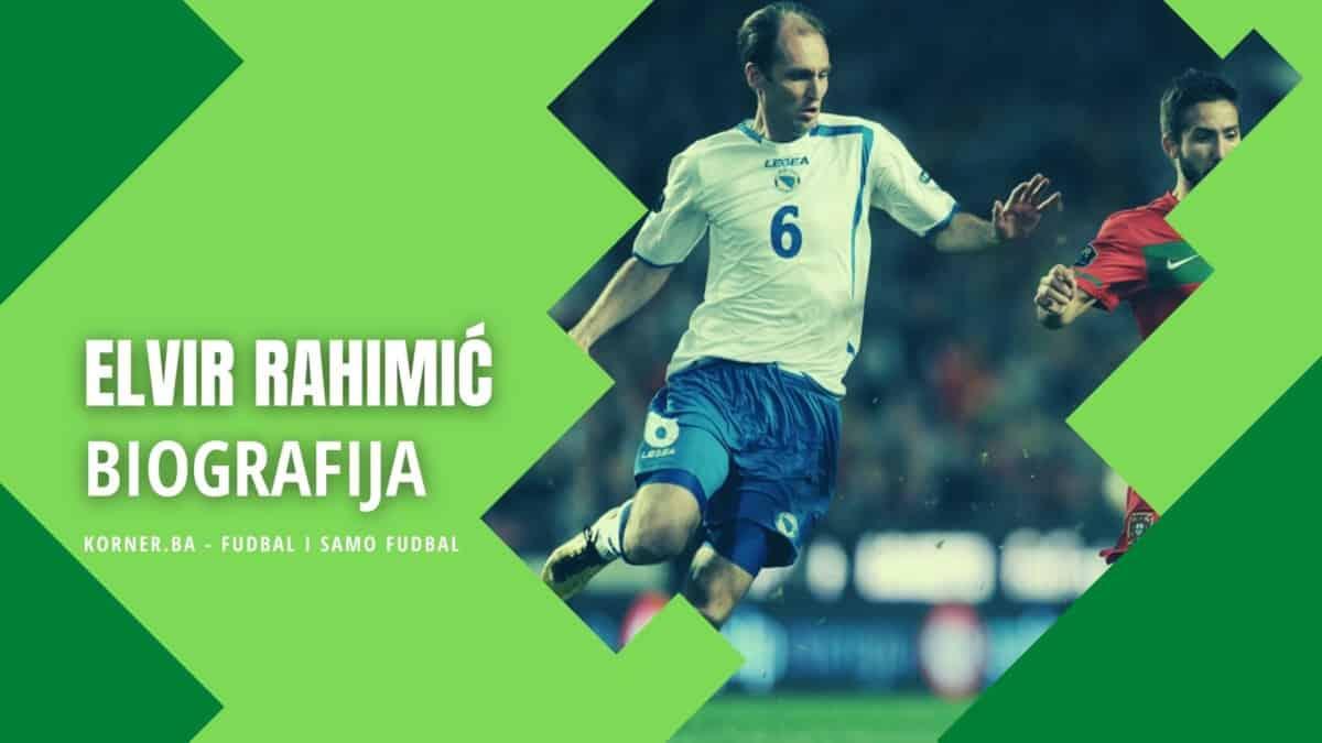 Elvir Rahimić biografija