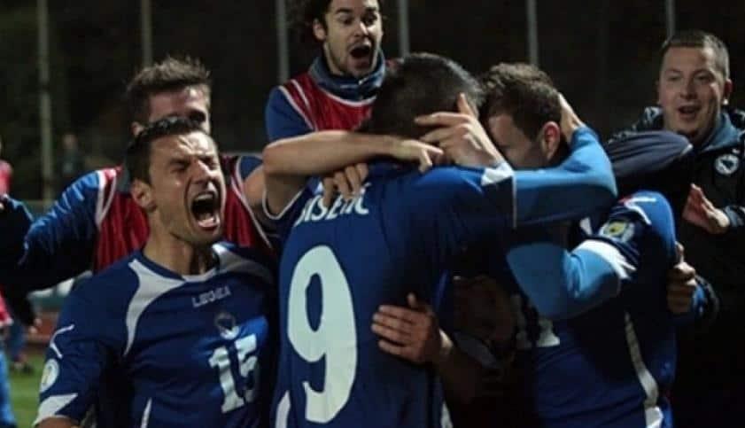 VREMEPLOV/ Litvanija BiH / Pobjeda za plasman na SP u Brazilu 2014