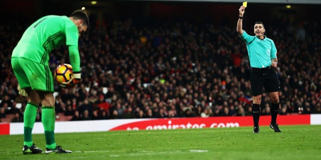 Pravila golmana u fudbalu
