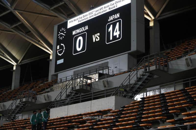 Reprezentacija Japana zabila 14 golova