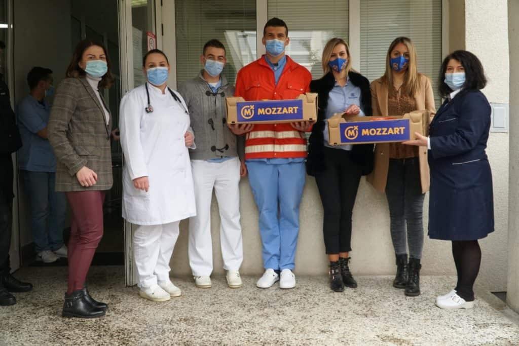 Mozzart nagradio požrtvovane medicinare u Bugojnu