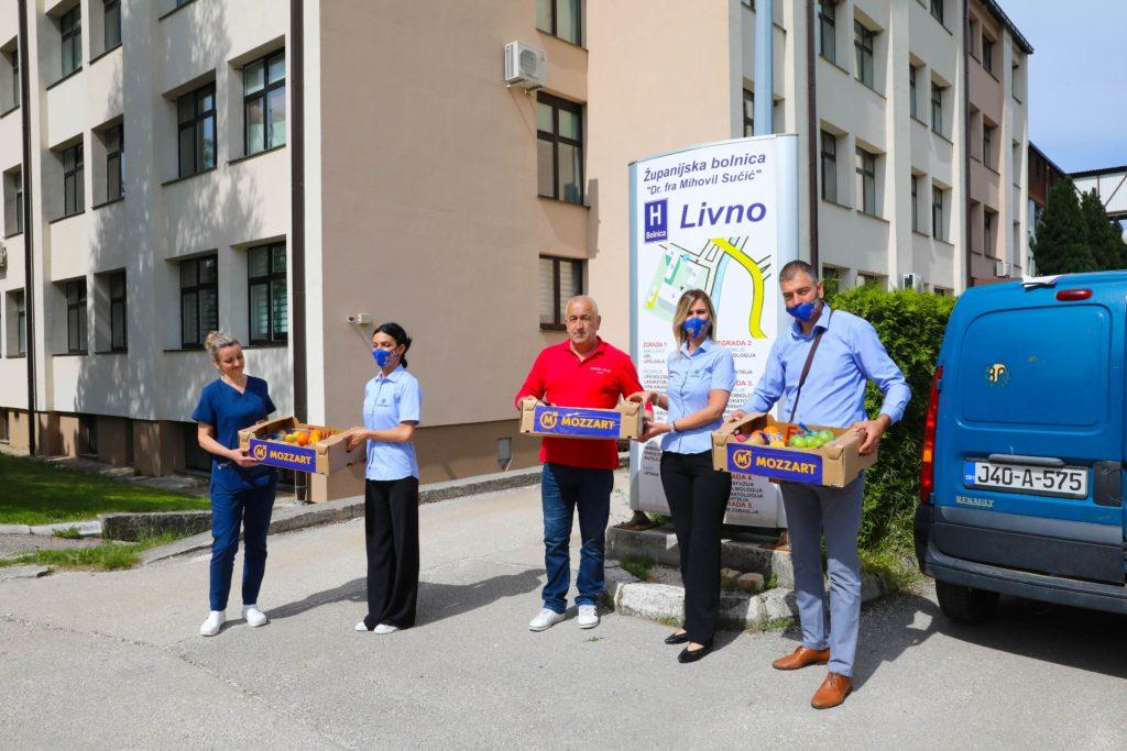 Mozzart nastavlja da pomaže zdravstvu - stigla donacija bolnici u Livnu