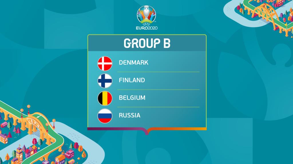 EURO 2020 grupa B