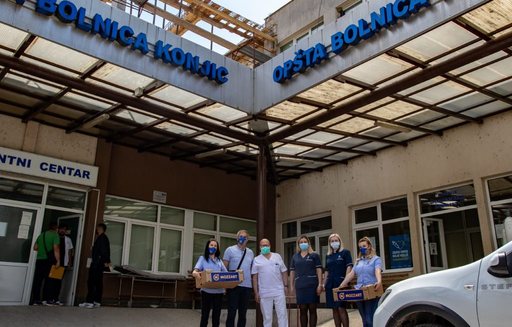 Epidemija jenjava, ali ne i Mozzartova podrška zdravstvenim ustanovama