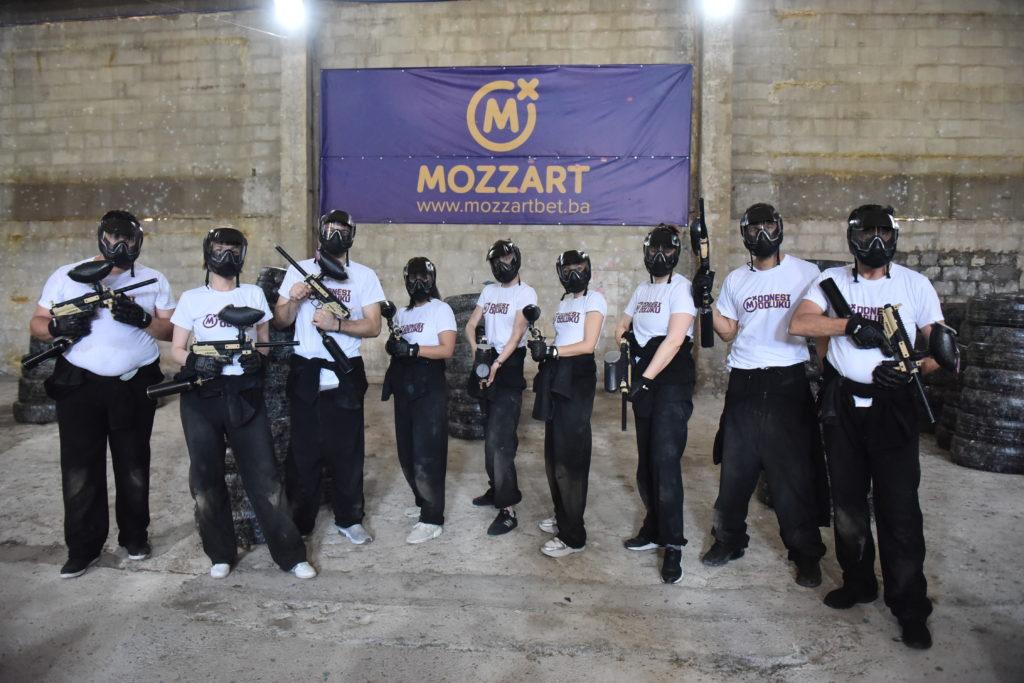 Za popularizaciju sporta – Mozzart podržao Paintball klub Borac