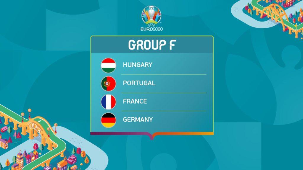 EURO 2020 grupa F