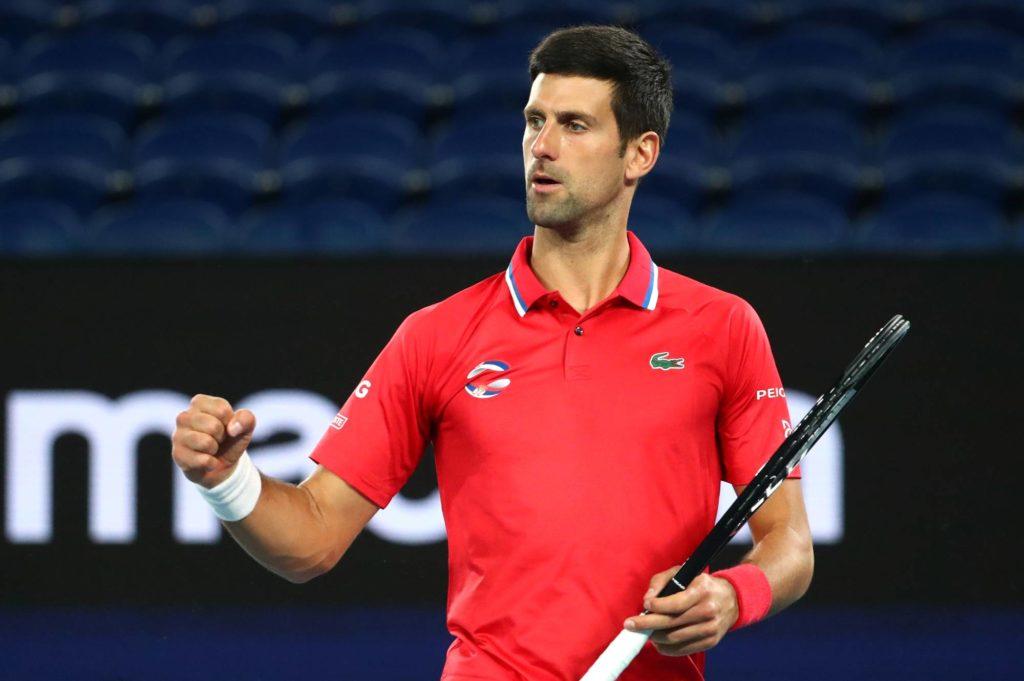 Igraju Ukrajina, Njemačka, Novak sa Musetijem