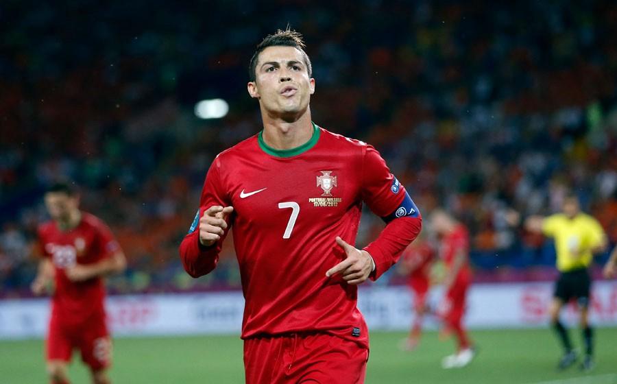 golovi Cristiana Ronalda na Europskim prvenstvima