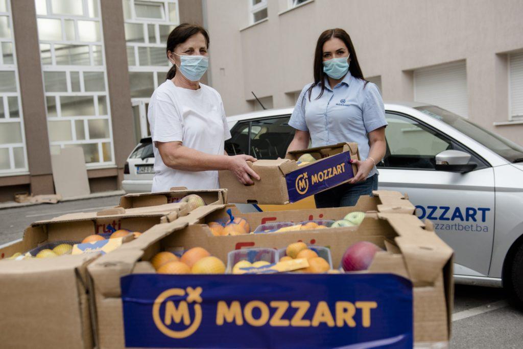 Mozzart uz medicinare – vitaminski paketi stigli u oko 25 gradova širom zemlje