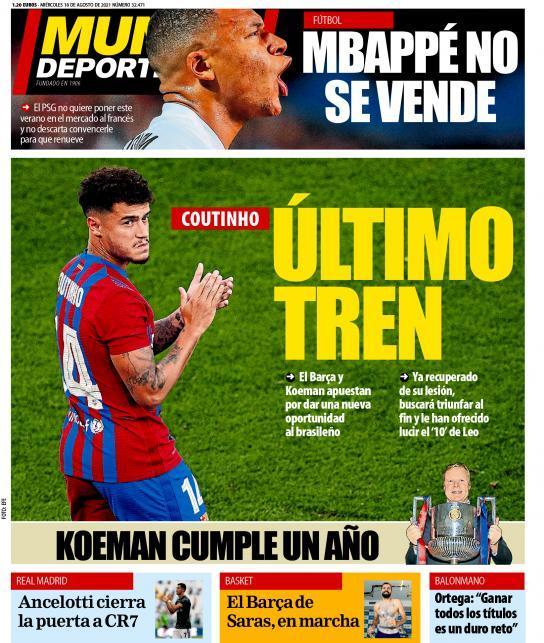 """Posljednja šansa: Coutinho umjesto transfera oblači veliku """"desetku"""""""