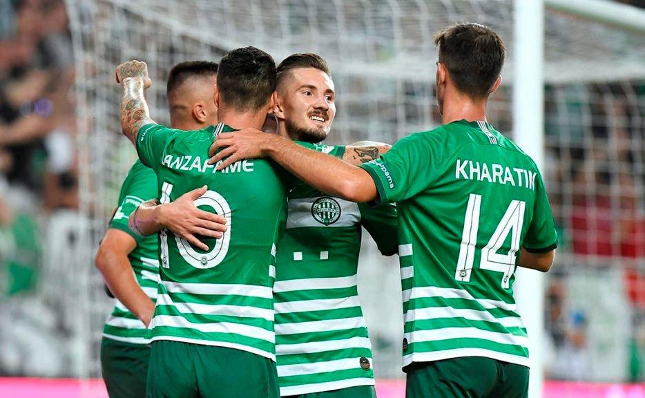 Liga šampiona u prvom planu, pogled usmjeren ka Zagrebu