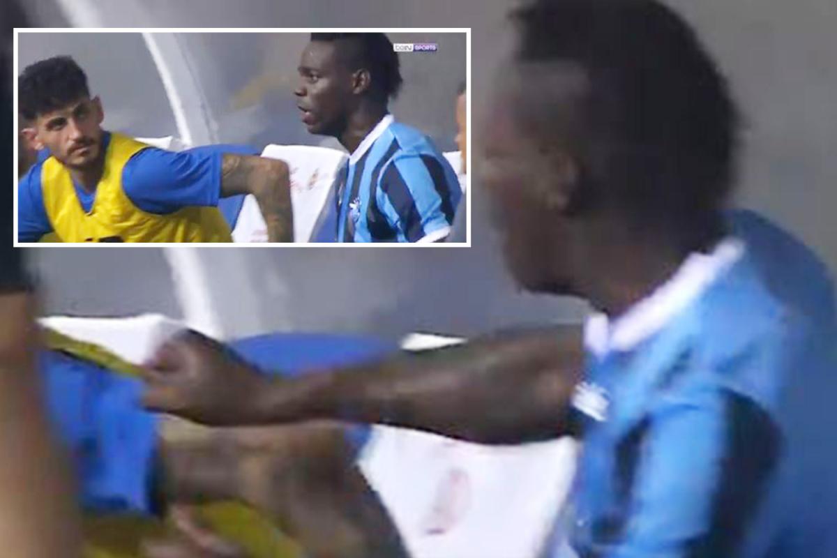 Mario Balotelli udario saigrača
