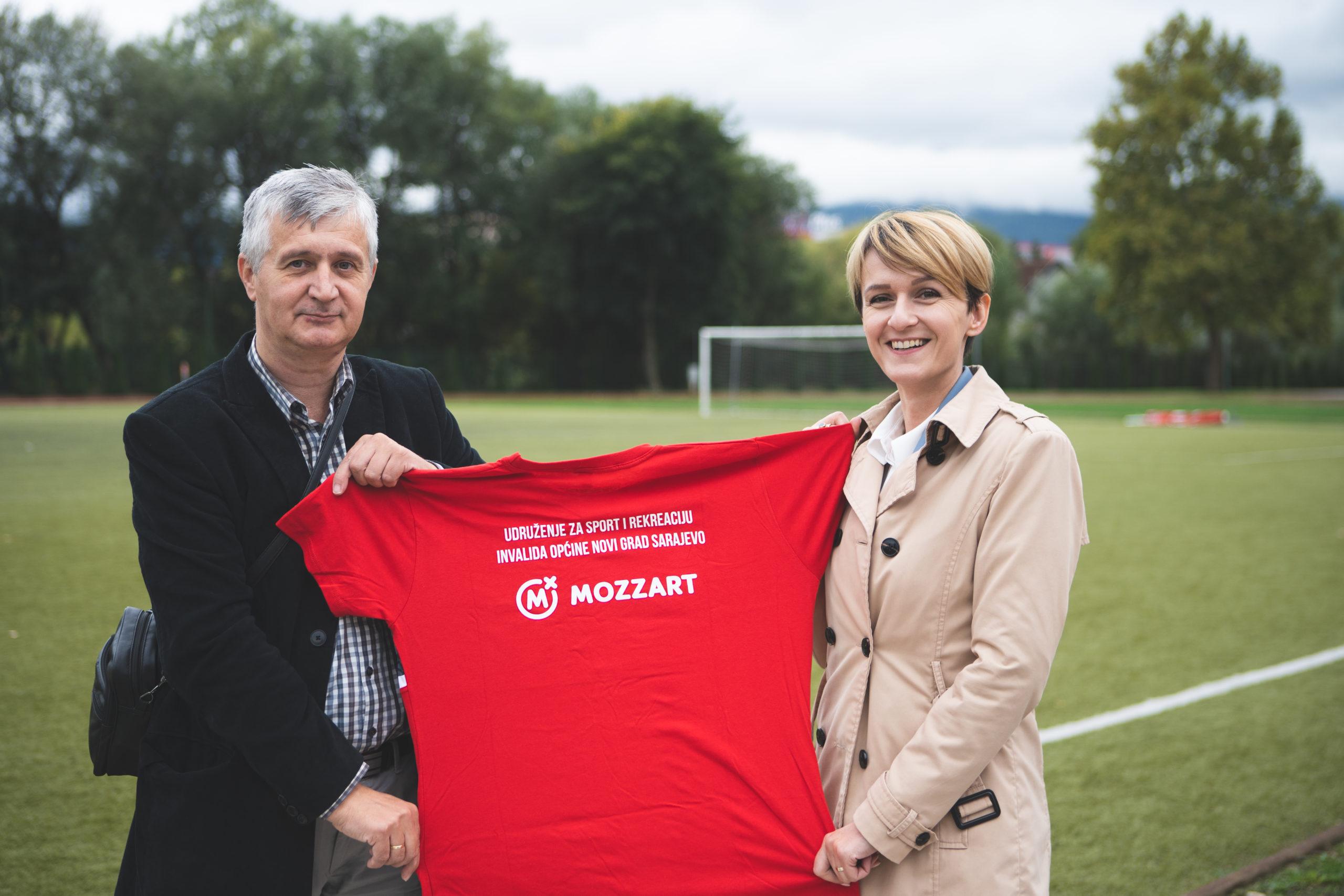 Mozzart podržao sportiste sa invaliditetom iz Sarajeva