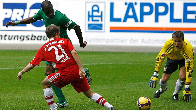 Grafite vs Bayern